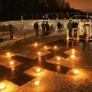 Крещенские купания в Нижнем Новгороде 2017 фотографии