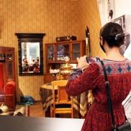 Экспозиция первого вНижнем Новгороде Музея СССР фотографии