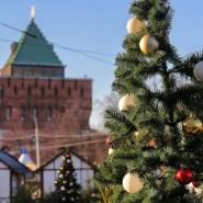 Открытие ярмарки, катка и Царь-горки на площади Минина и Пожарского 2019/20 фотографии