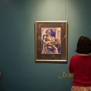 Выставка одной картины «Портрет брата Давида с мандолиной» фотографии