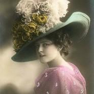 Выставка «Ах, эти шляпки, шляпки, шляпки» фотографии