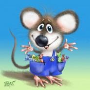 Сказка для детей «Мышка Хохоша» фотографии