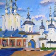 Выставка  живописи Татьяны Яковлевой «Путевой дневник» фотографии