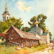 Выставка живописи Сергея Алдушкина фотографии