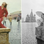 Выставка «Russia in VOGUE» фотографии