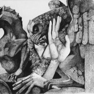 Выставка  «Олег Яхнин. Прикосновение к книге фотографии