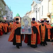 Пасхальный Крестный ход в день Светлой Пасхи 2019 фотографии