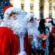 Праздничное новогоднее шествие фотографии
