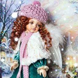 Выставка «Хочу я куклу к Рождеству»