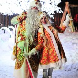 Новогодние праздники в  Сормовском парке