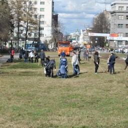Общегородской субботник в Нижнем Новгороде 2019