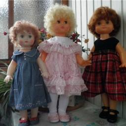 Выставка кукол  «Лена из полиэтилена»