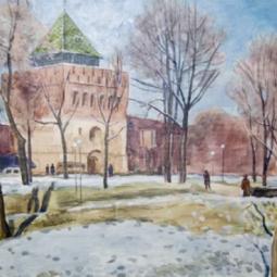Выставка работ Александра Павловича Бутусова
