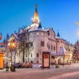 Новый год в Нижнем Новгороде 2021