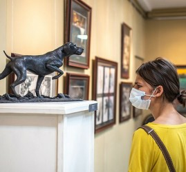 Выставка работ студентов Академии акварели и изящных искусств Сергея Андрияки