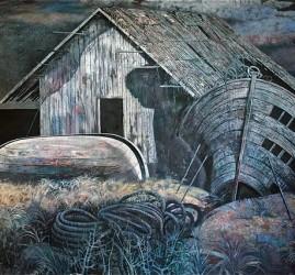 Выставка  «Олег Яхнин. Прикосновение к книге