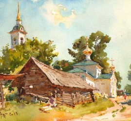 Выставка живописи Сергея Алдушкина