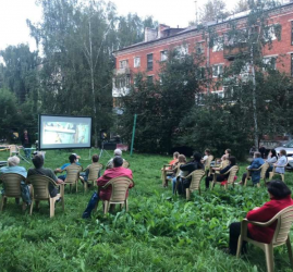 Сезон бесплатных кинопоказов под открытым небом «Кинодворик-2021»
