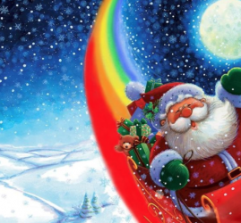 Новогоднее представление «Новогодняя радуга» 2018