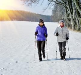 Занятия скандинавской ходьбой 2021
