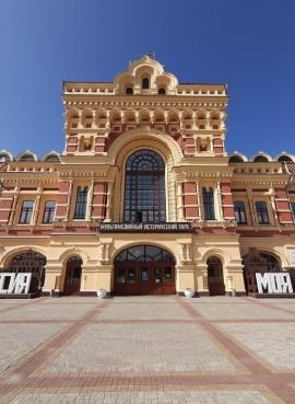 Исторический парк «Россия— моя история» в Нижнем Новгороде