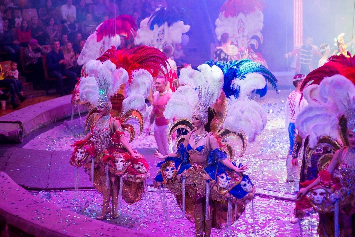 Цирковое шоу Гии Эрадзе «Бурлеск» вНижнем Новгороде