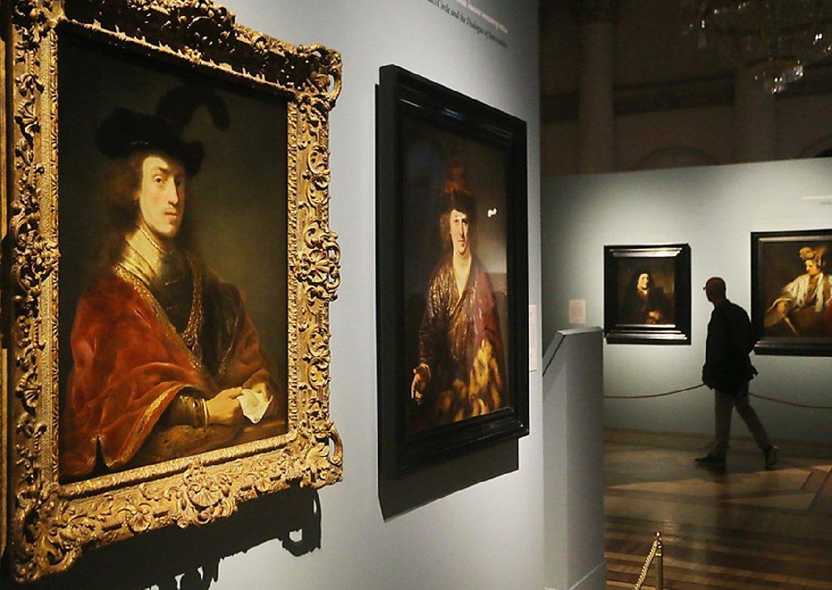Выставка «Рембрандт наблюдает. К350-летию содня памяти мастера»