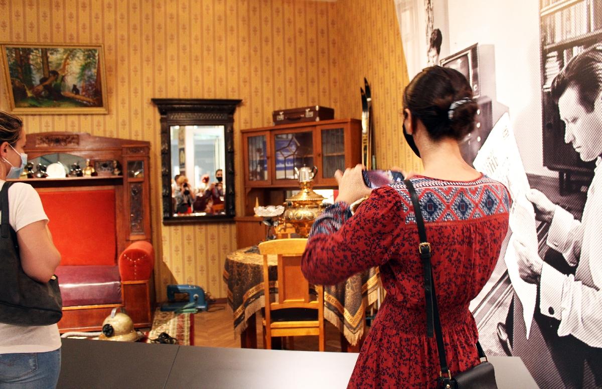 Экспозиция первого вНижнем Новгороде Музея СССР