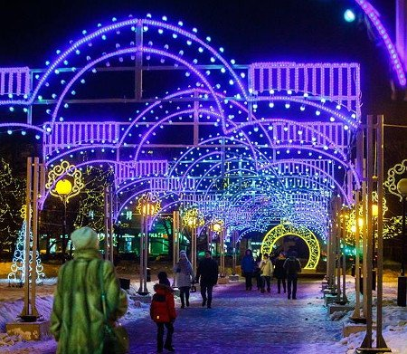 Новогодние иРождественские праздники вНижнем Новгороде 2019