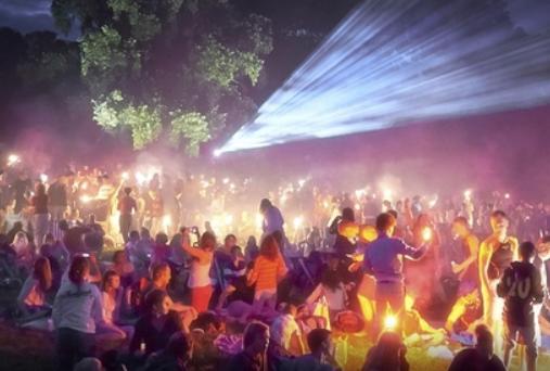 Фестиваль уличного кино вНижнем Новгороде 2018