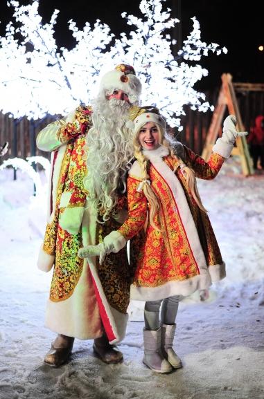 Новогодние праздники вСормовском парке