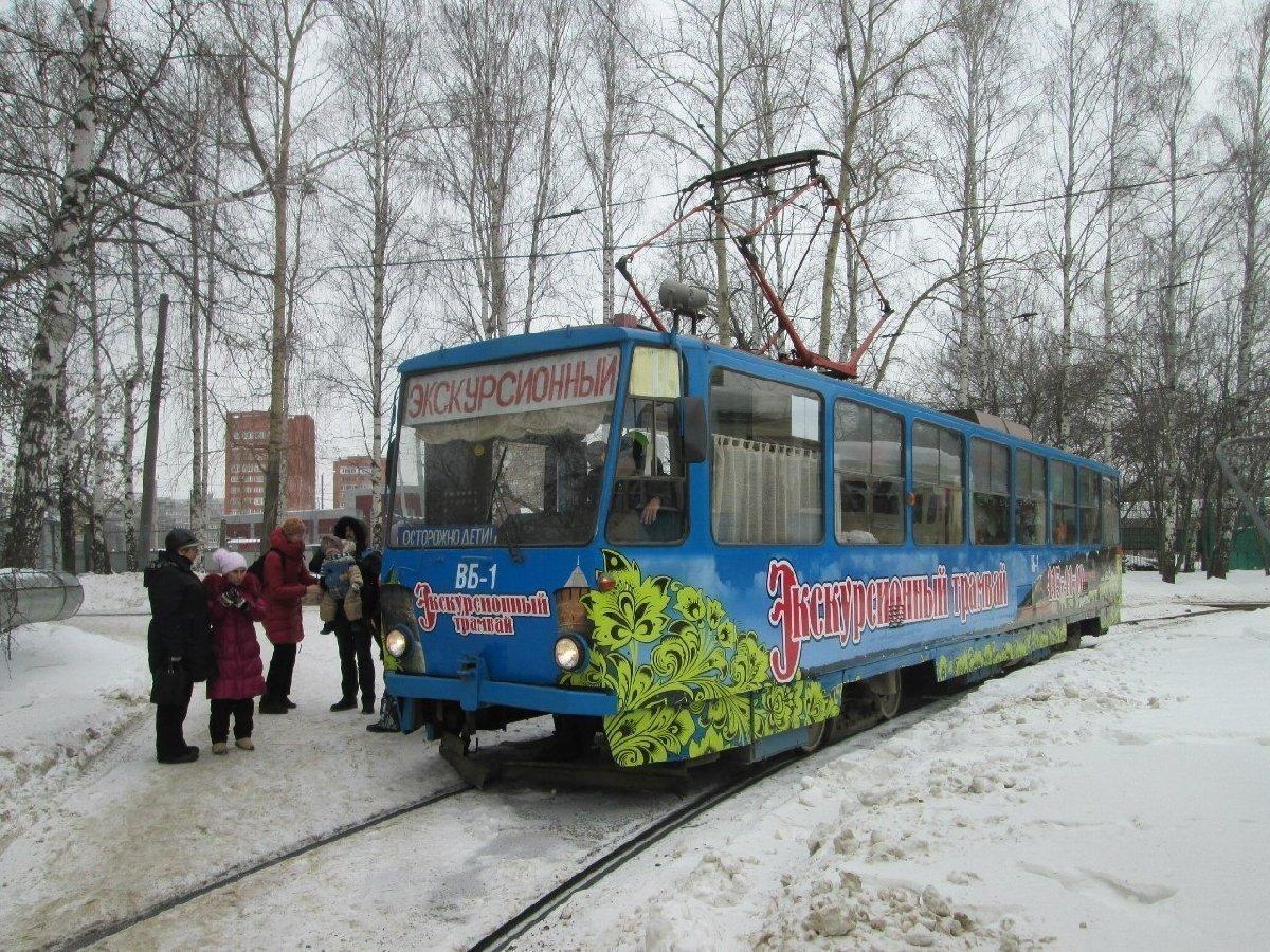 Экскурсии натрамвае-кафе вНижнем Новгороде