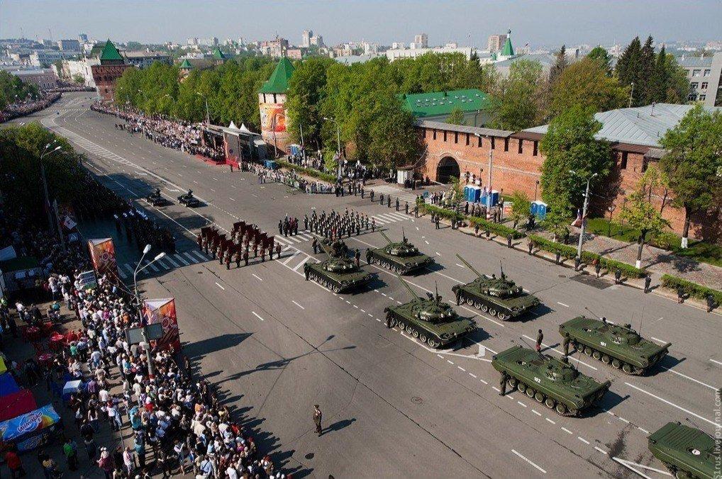 Празднование Дня Победы вНижнем Новгороде 2019