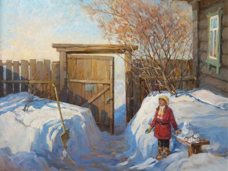 Выставка «Преемственность: отец идочь»