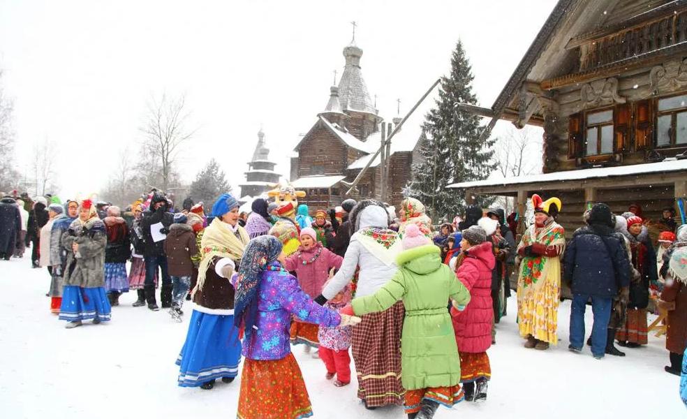 Фольклорно-этнографический праздник «Святки» 2018