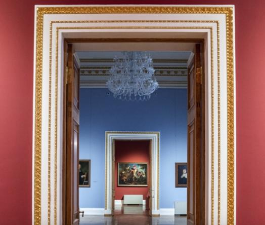 Обновленная выставка западноевропейского искусства
