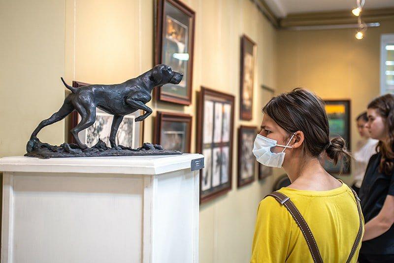 Выставка работ студентов Академии акварели иизящных искусств Сергея Андрияки