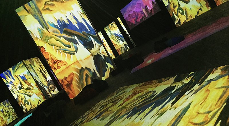 выставка «Рерих – живые полотна» в Нижнем Новгороде