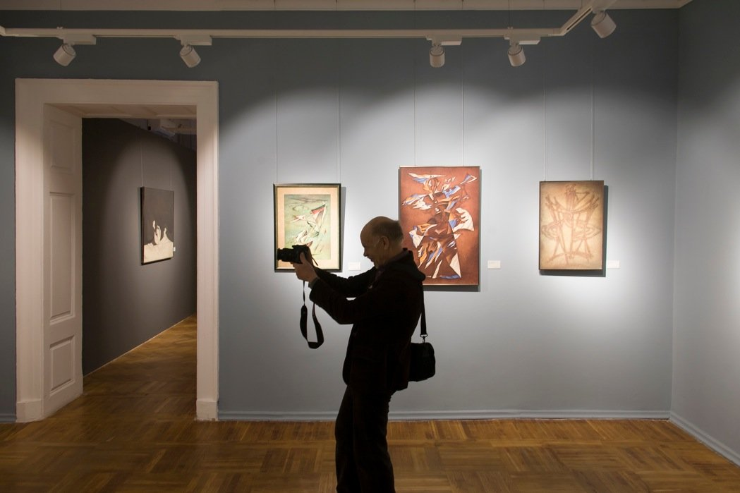 Выставка «Возвращение вALMA MATER»