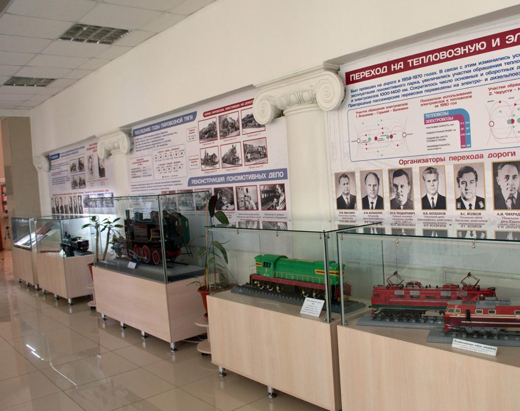 Музей истории иразвития Горьковской железной дороги