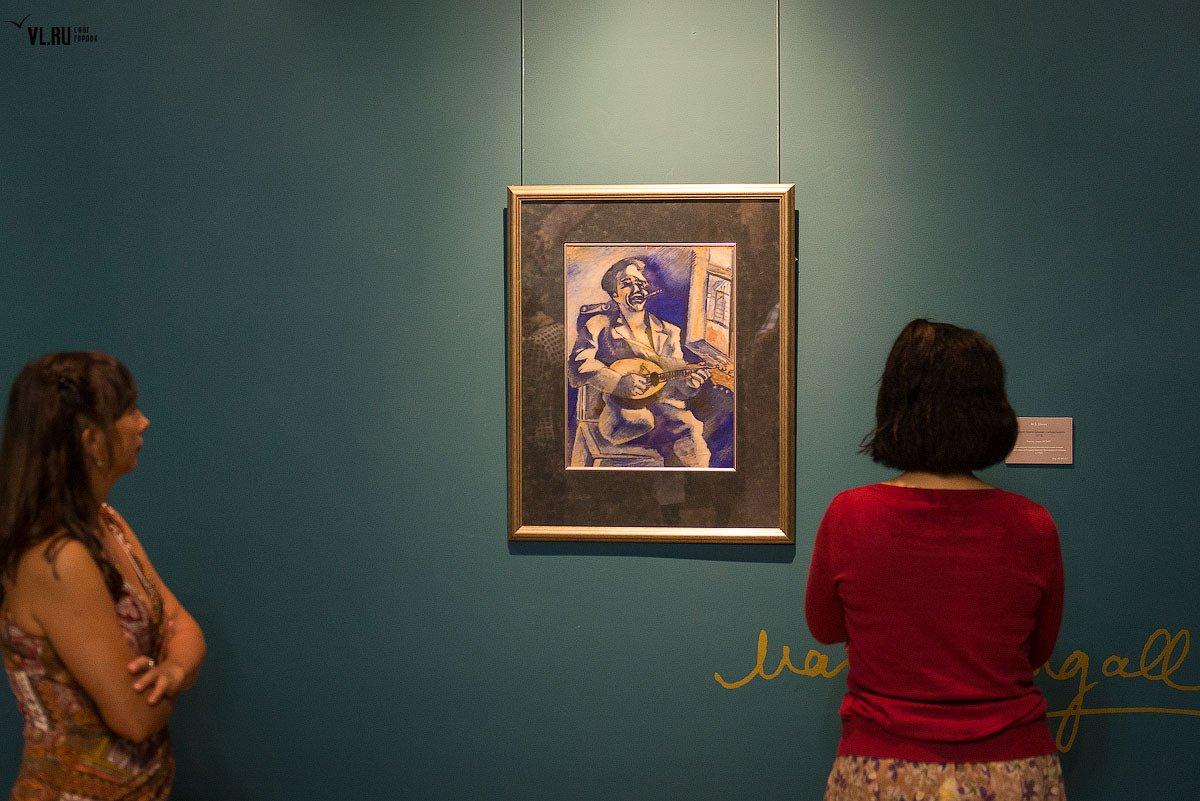 Выставка одной картины «Портрет брата Давида смандолиной»