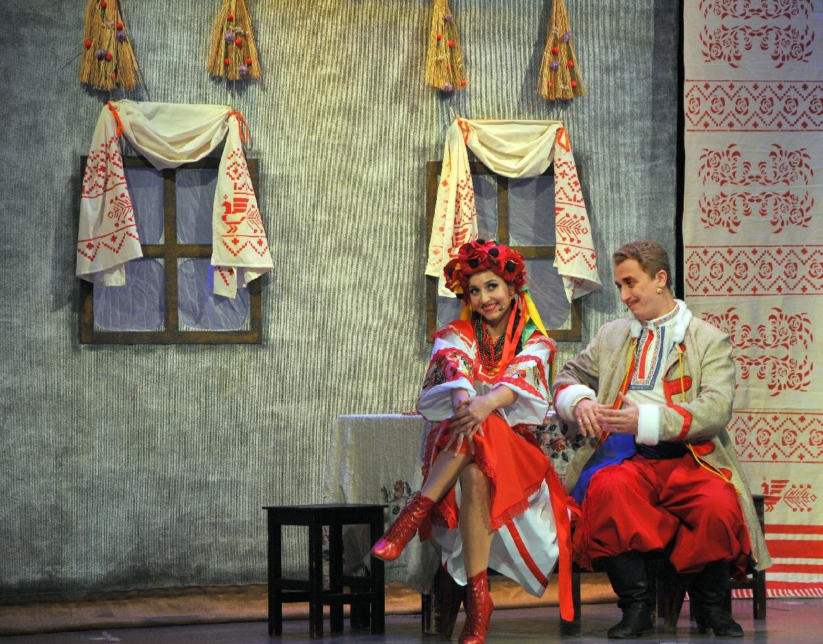 Гастроли Волгоградского музыкального театра