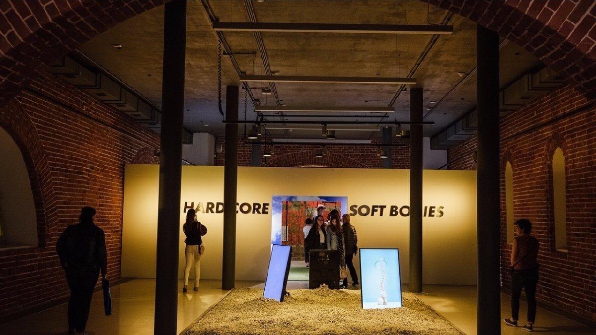 Открытие трех выставок вАрсенале 23 октября 2019 года