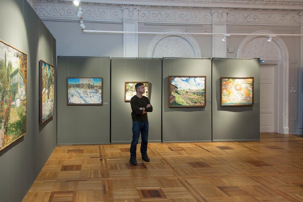 Выставка «Выставка художника Василия Маслова»