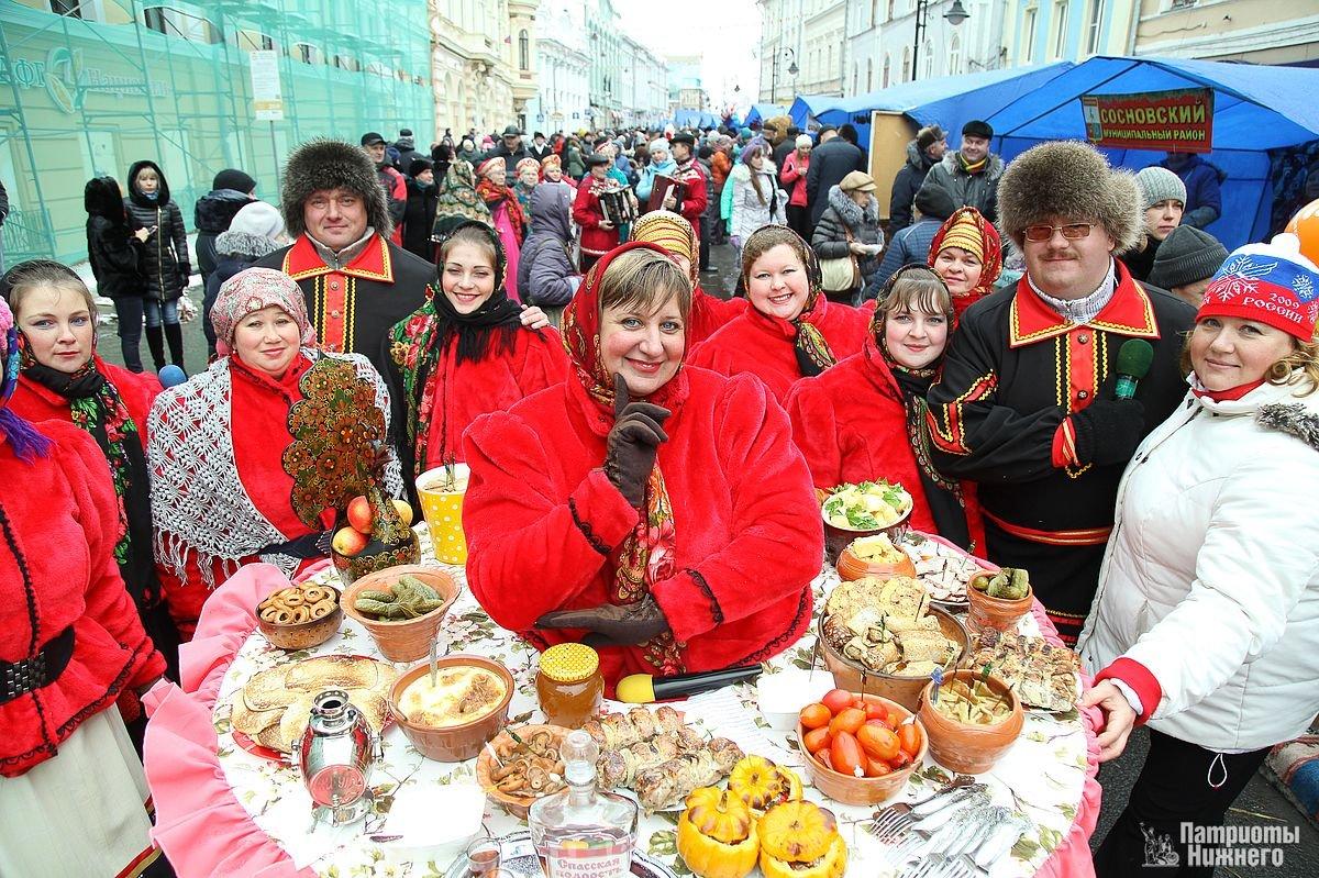 Фестиваль «Кухни народов России» вНижнем Новгороде 2019