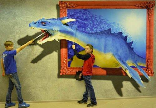 3D картины на Нижегородской ярмарке
