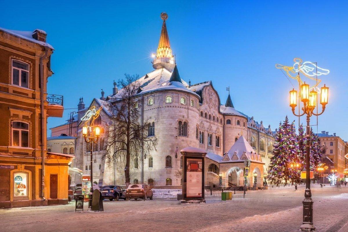 Новый год вНижнем Новгороде 2021